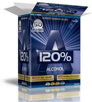 Скриншот к Alcohol 120%  Multilanguage Portable 5.0 Blu-Ray