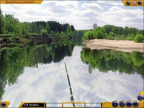 Скриншот к домашняя рыбалка
