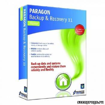 Paragon Backup and Recovery 11