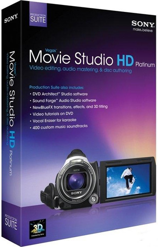 Sony Vegas Movie Studio HD Platinum 11 Production Suite