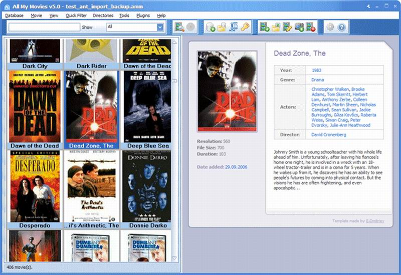 Скриншот к All My Movies v.7.3