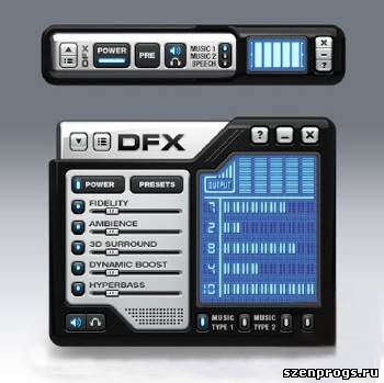 Скриншот к DFX Audio Enhancer 10.130